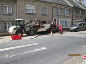 Réfection des trottoirs rue Paul Lecacheux